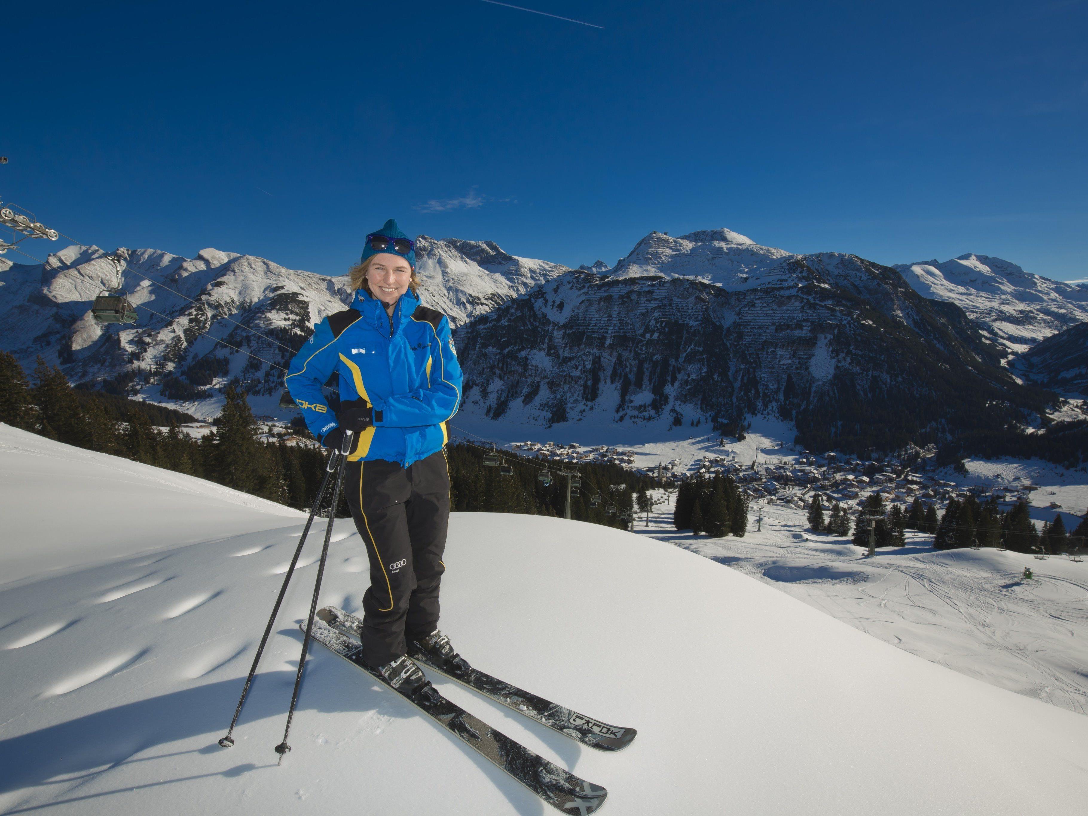 Im Jänner blieb die Zahl der russischen Gäste in Lech zum Vorjahr konstant.