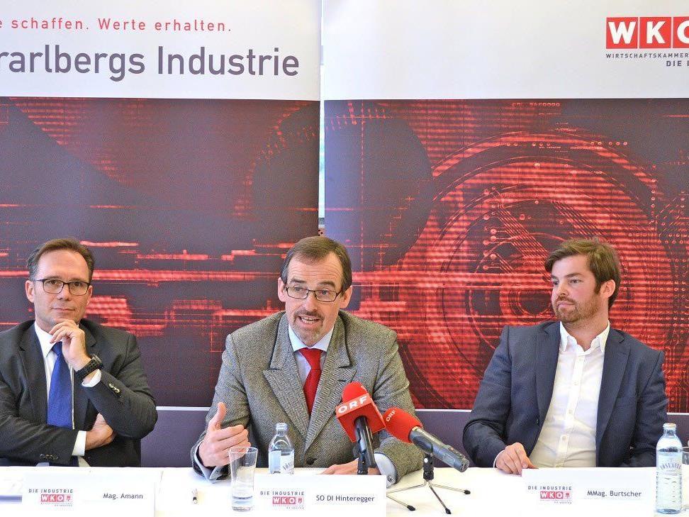 Vorarlbergs Industrie präsentiert Konjunkturumfrage