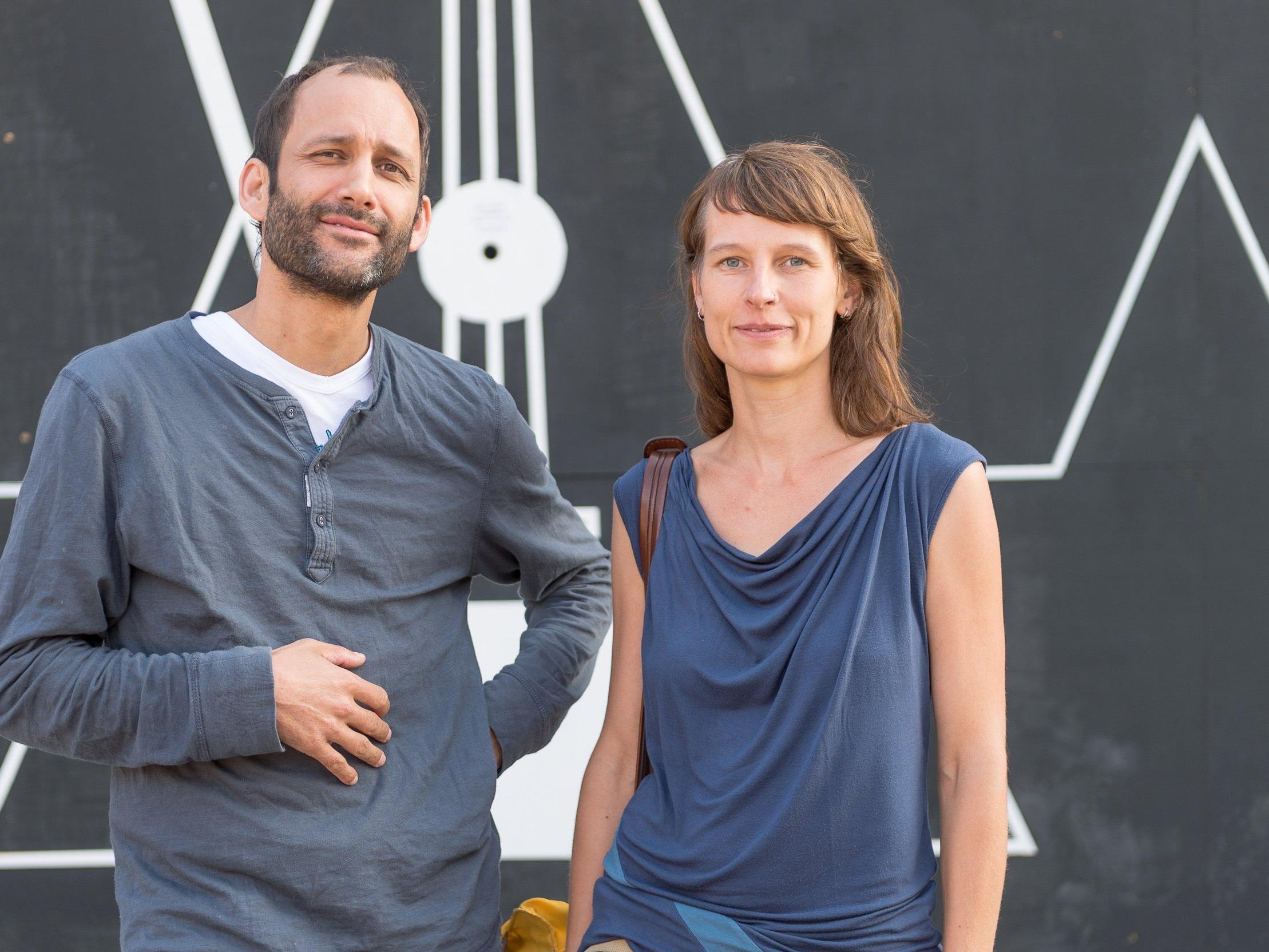 Herwig Bauer und Heike Kaufmann, die beiden Geschäftsführer des poolbar-Festivals.