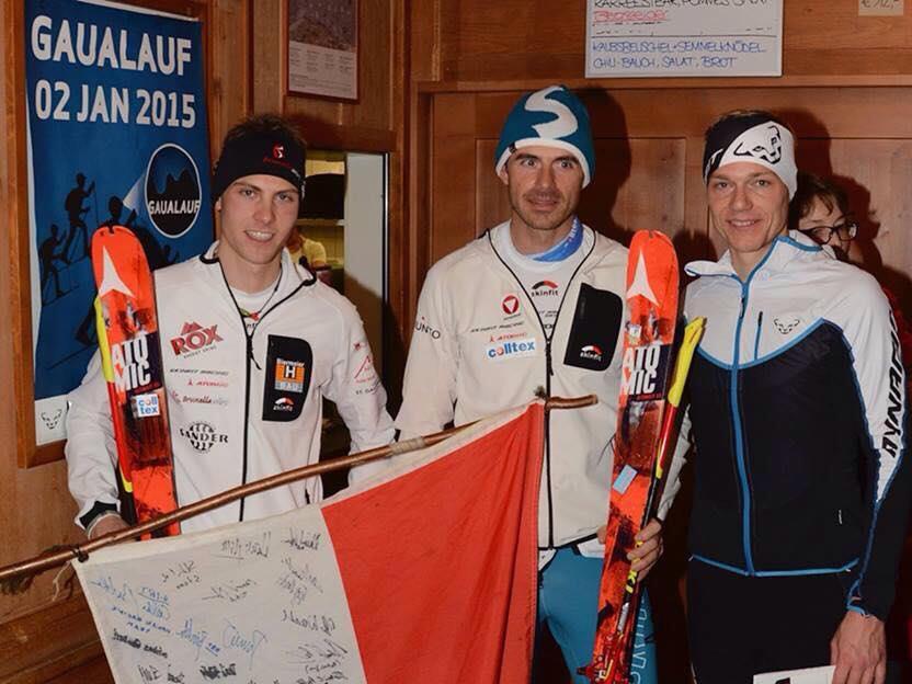 Patrick Innerhofer gewinnt den Gaualauf vor Hugg und Zugg.