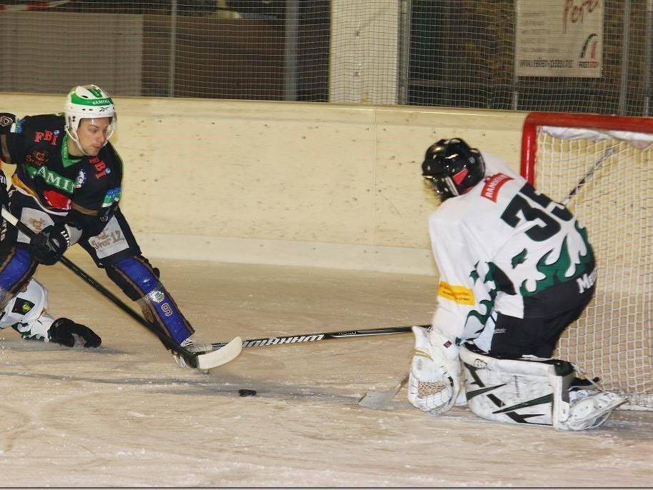 Torjäger Johannes Hehle erzielte ein Triplepack beim 7:5-Auswärtssieg in St. Gallen.