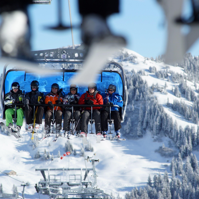 Endlich volle Skilifte: Schneefälle Anfang Jänner bringen Skisaison in Vorarlberg in Schwung.
