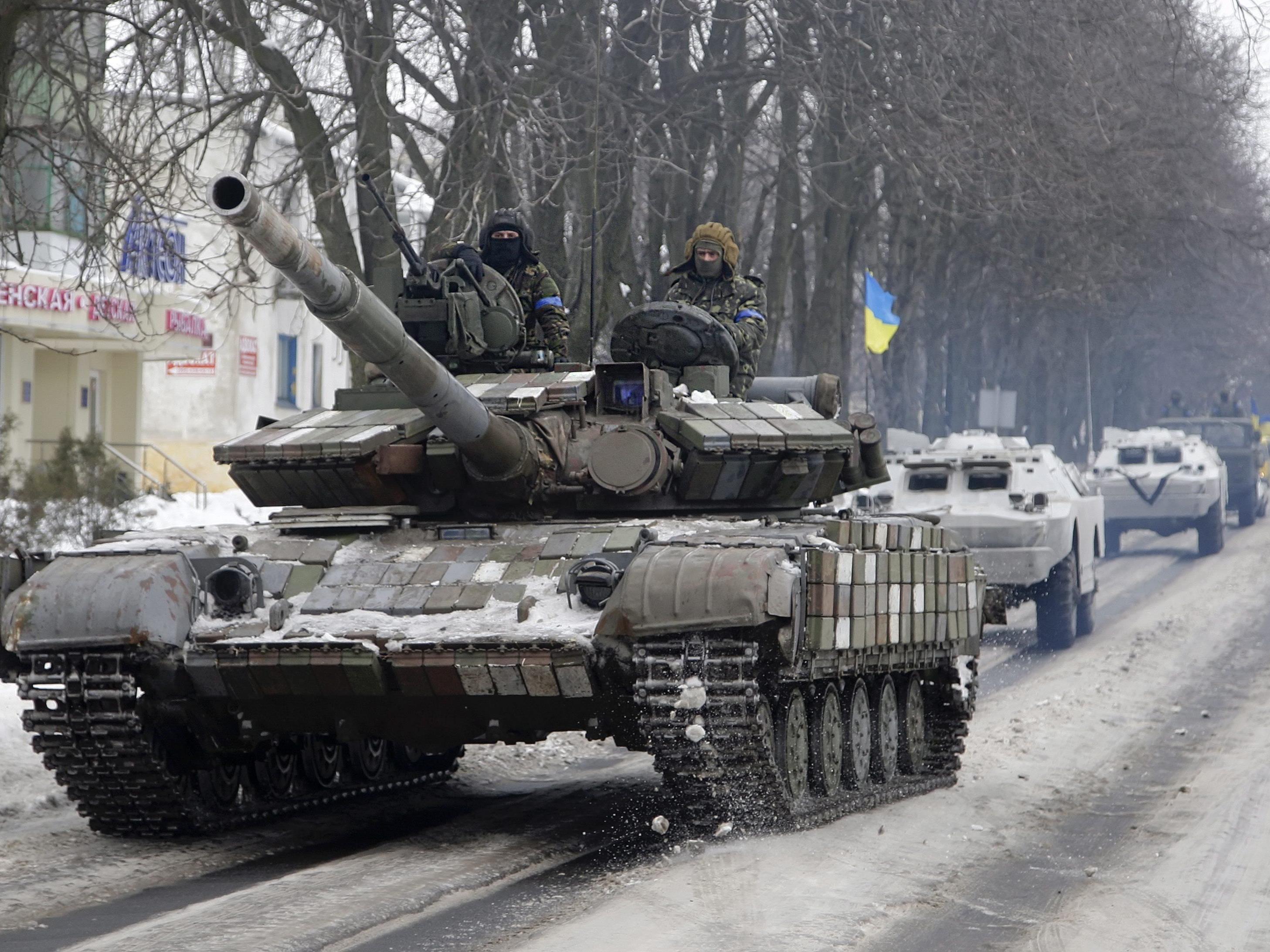 Russland wirft ukrainischem Präsidenten Doppelzüngigkeit vor.