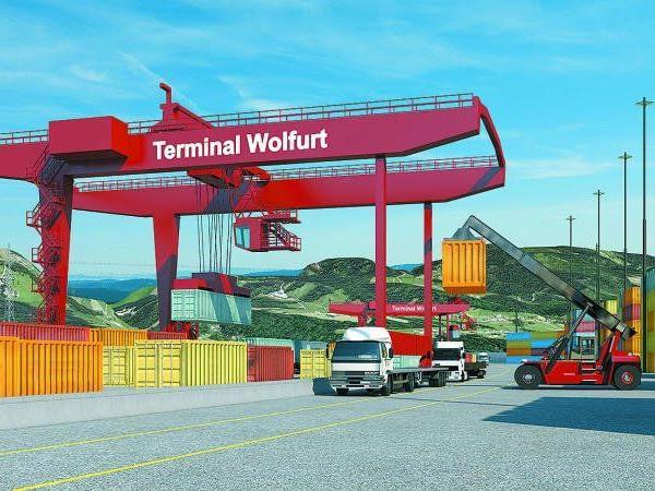 Mit dem Spatenstich startet heute der Ausbau des Terminals Wolfurt auch ganz offiziell.