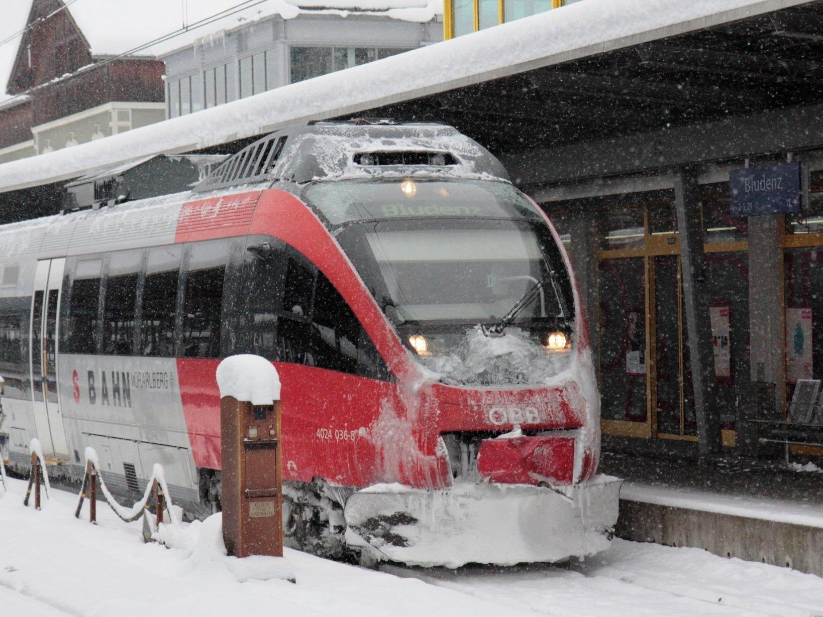 98,6 Prozent aller Züge in Vorarlberg fahren pünktlich.