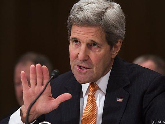 Kerry ging mit Moskau hart ins Gericht