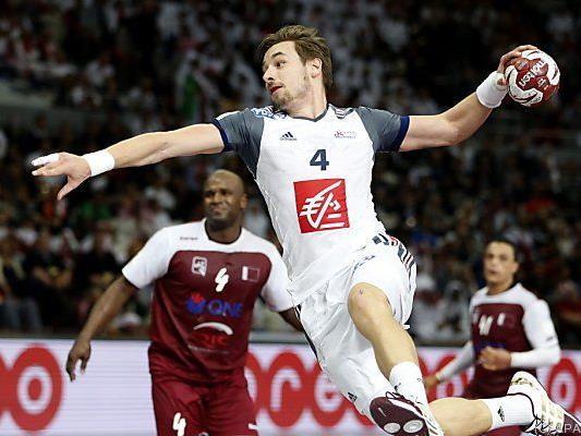 Frankreich stoppte Gastgeber Katar