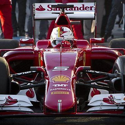 Vettel im neuen SF15-T