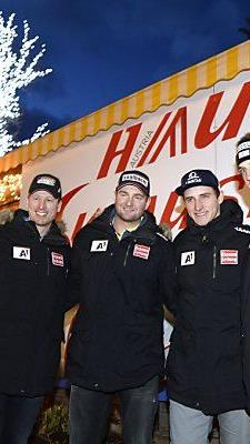 Österreichs Super-G-Team