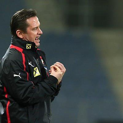 Schweres Los für das Team und Trainer Gregoritsch
