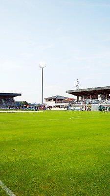 Spielfeld in Grödig derzeit nicht bundesliga-tauglich
