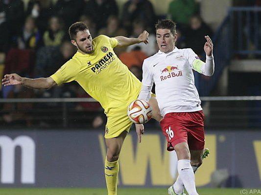 Bei Villarreal verlor Salzburg 1:2