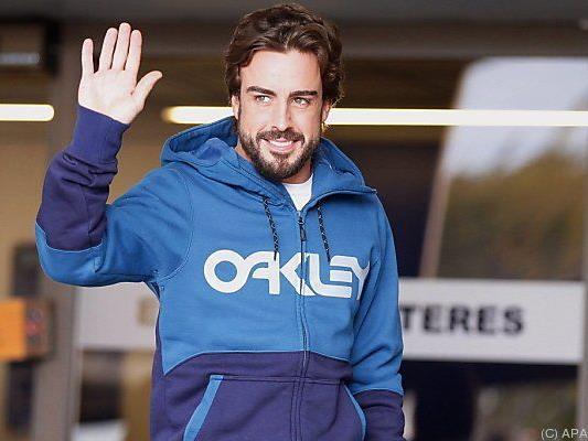 Fernando Alonso machte keine genauen Angaben zum Unfall