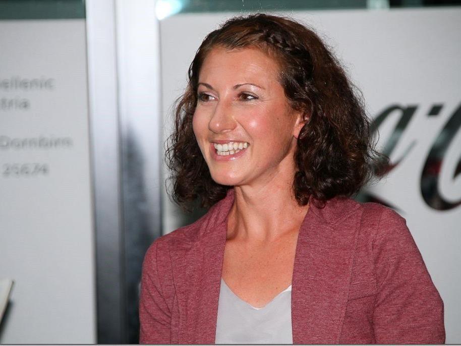 Souveräner Sieg in der falschen Sportart für die Laufspezialistin Sabine Reiner.