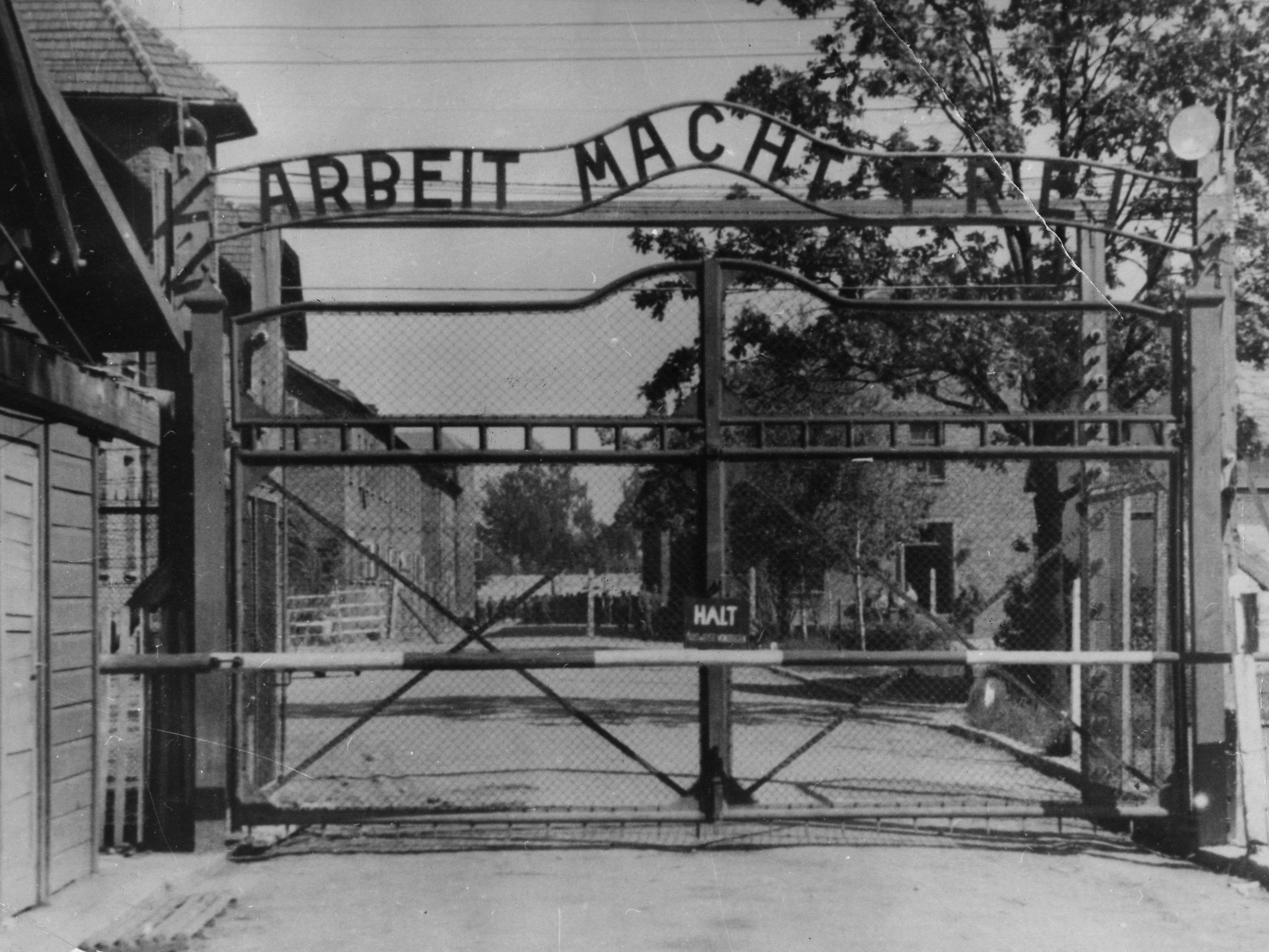 SS-Freiwilliger schaffte in Auschwitz Gepäck der Opfer beiseite.