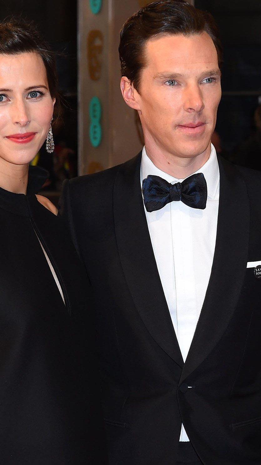 Benedict Cumberbatch und Sophie Hunter heirateten am Valentinstag.