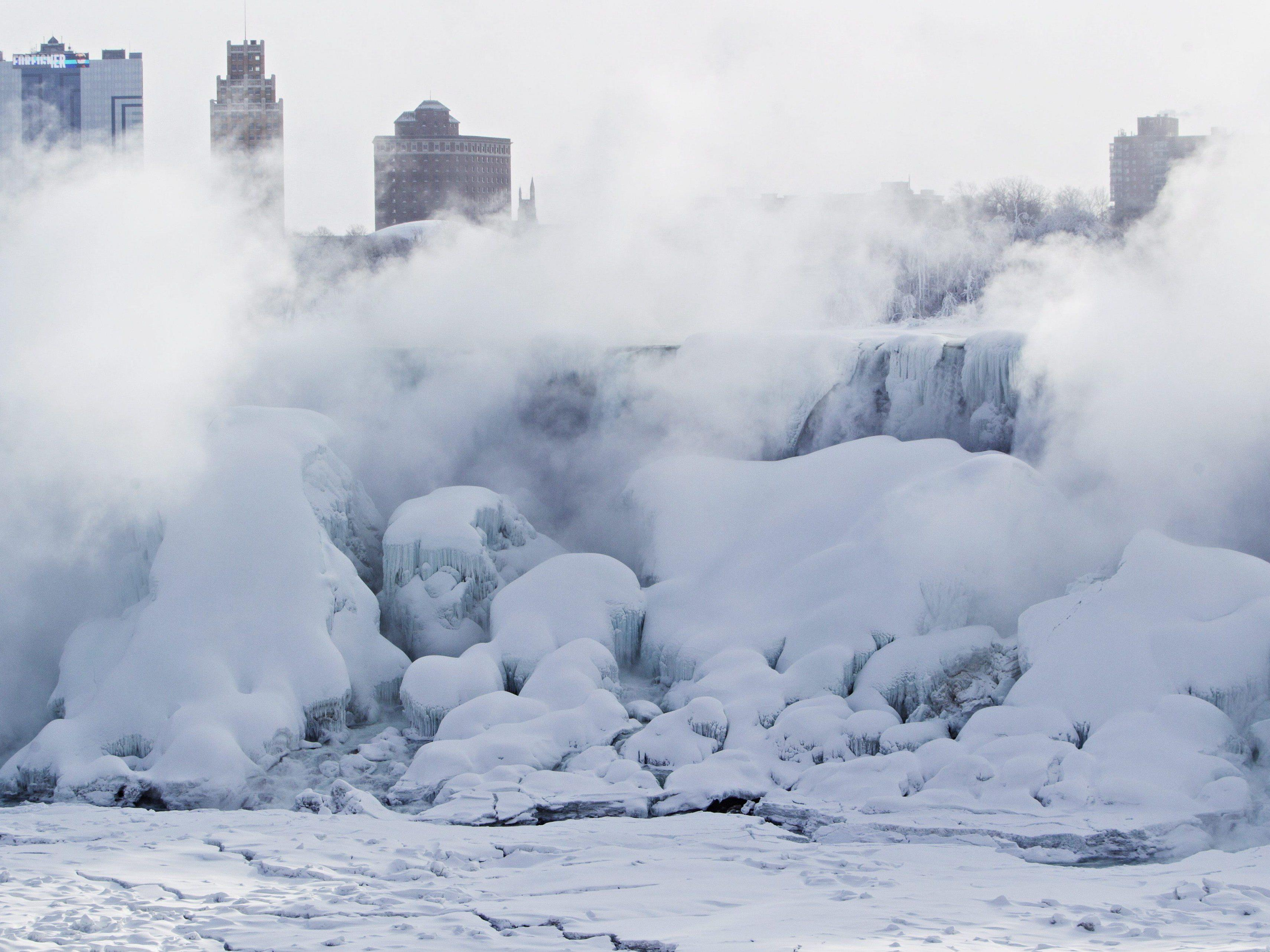 In Pennsylvania, New York City und Connecticut gab es Kälterekorde.