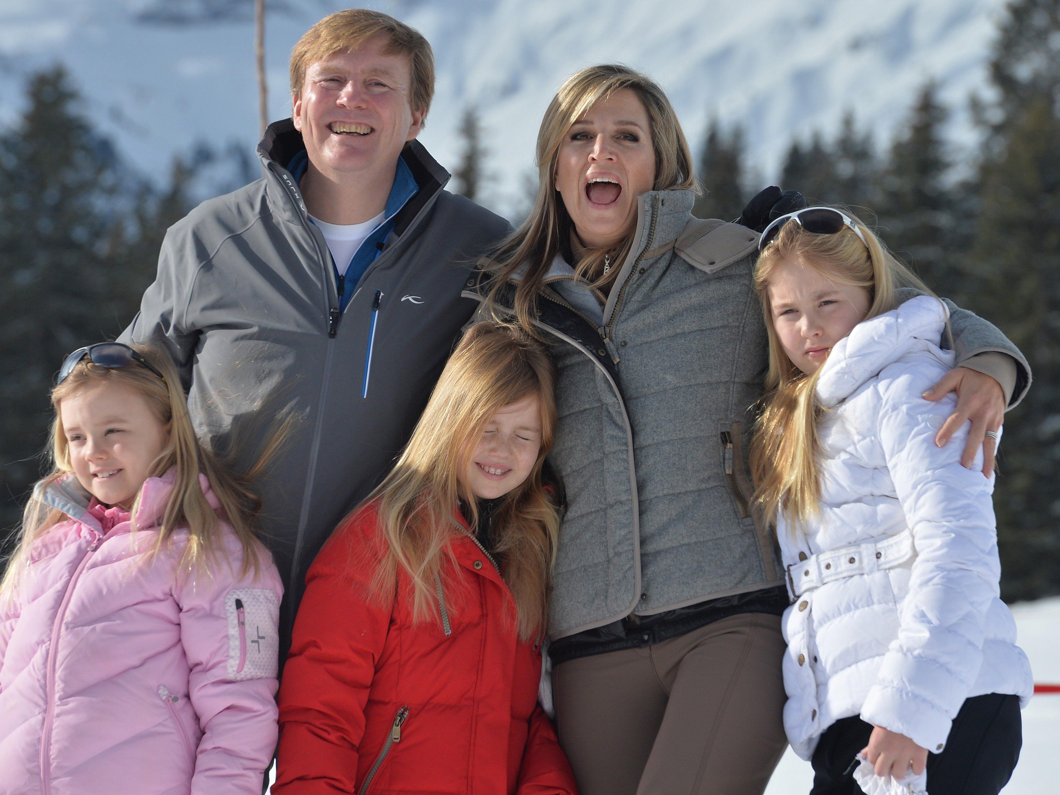 Offizieller Fototermin der Royals - Oranjes kommen seit 1959 an den Arlberg.