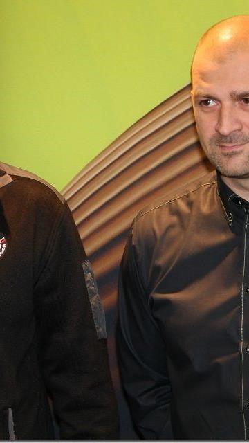 VEU Feldkirch Coach Milos Holan und Geschäftsführer Michael Lampert sind enttäuscht.