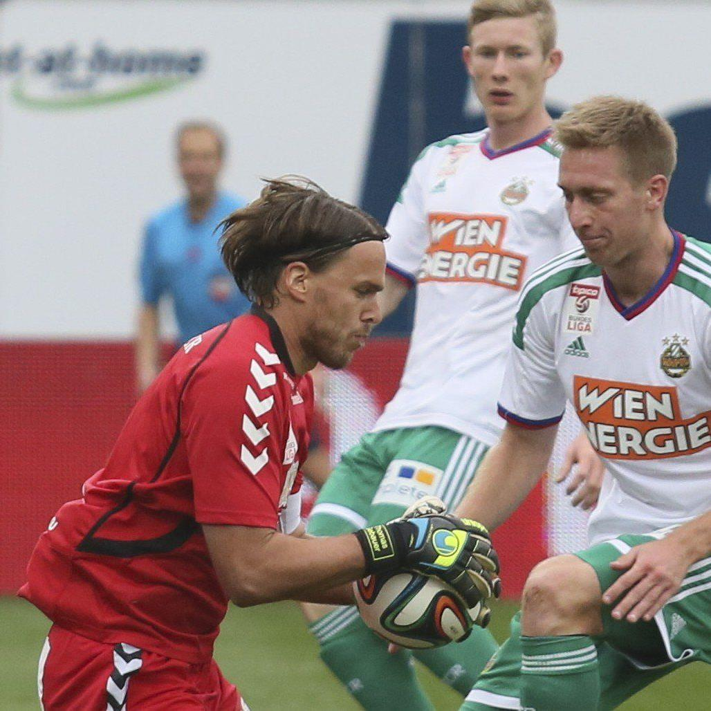 LIVE-Ticker zum Spiel SK Rapid Wien gegen SV Ried ab 16.00 Uhr.