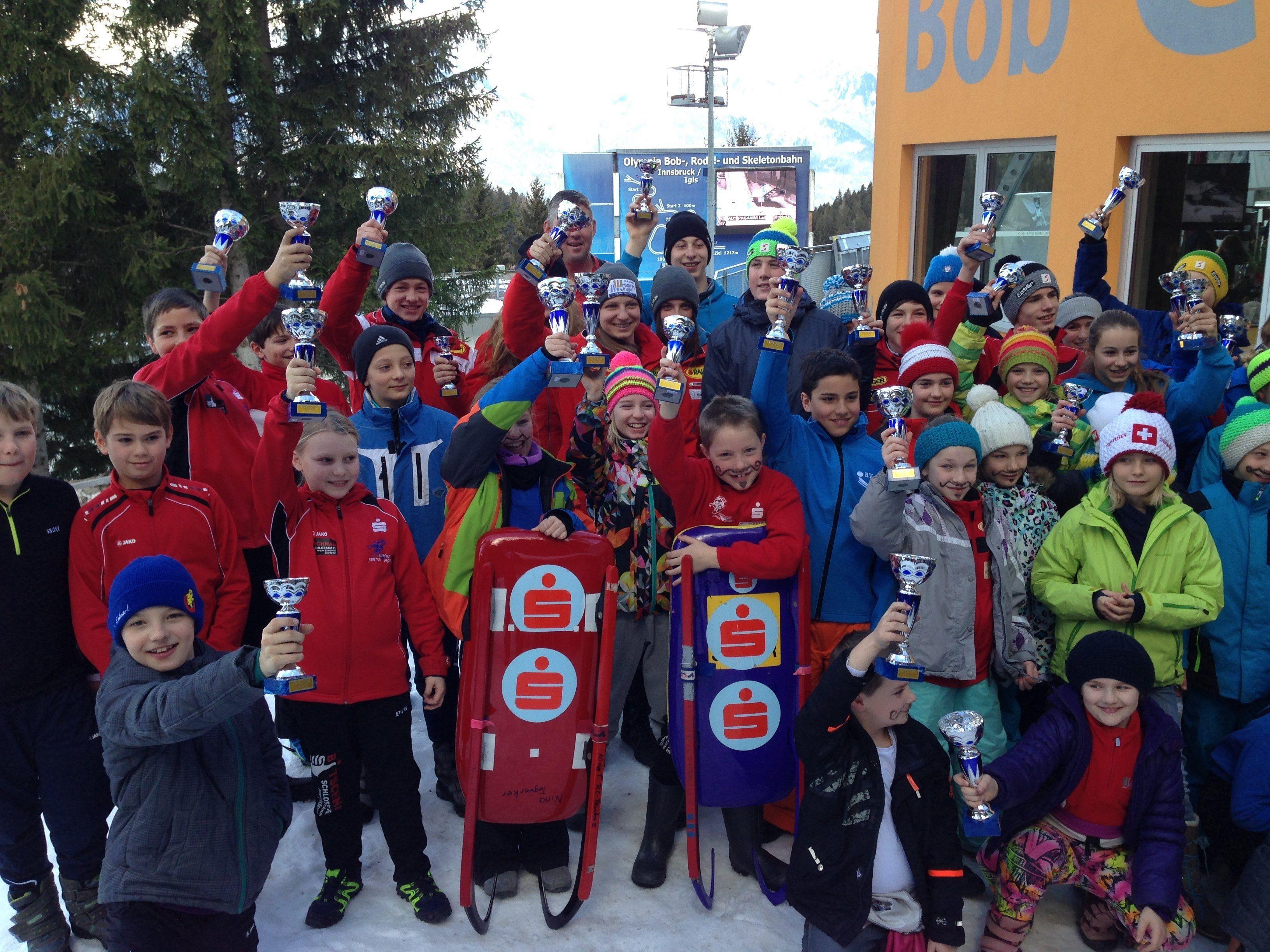 Ein Fest für die Jungrodler: ASVÖ-Cup in Innsbruck-Igls.