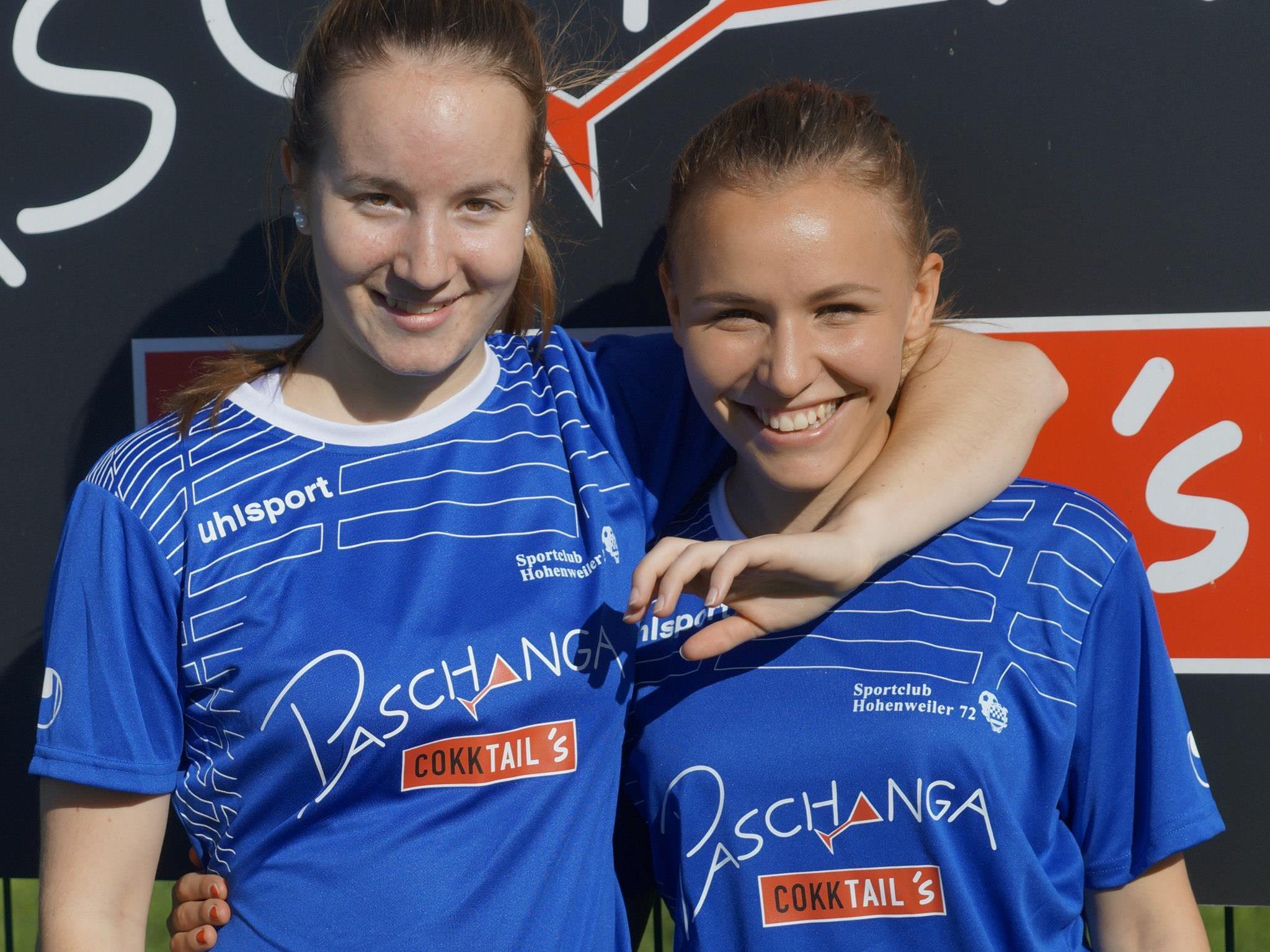 Susanne Wucher und Anna Leite, SC Hohenweiler