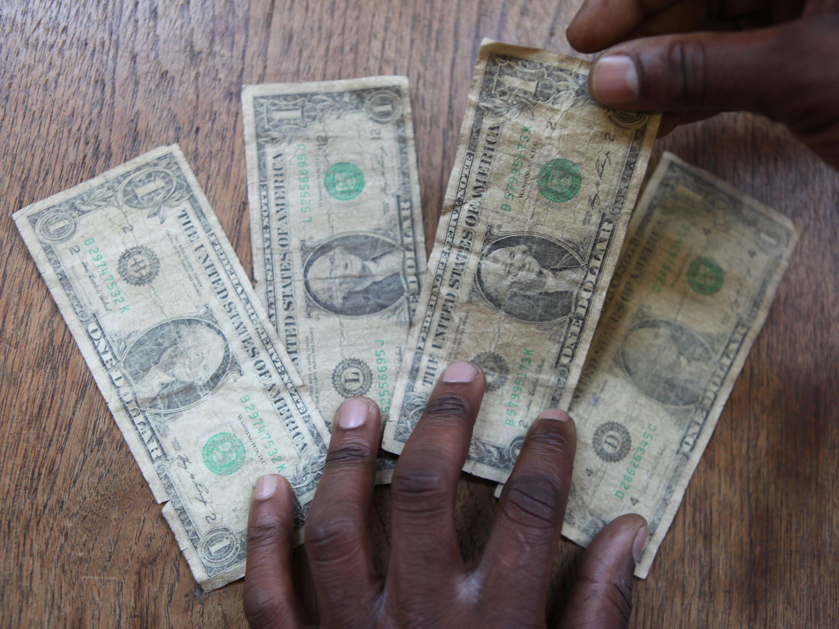 Timothy Andrew Norris wollte seine Steuern mit 600 Ein-Dollar-Noten bezahlen.