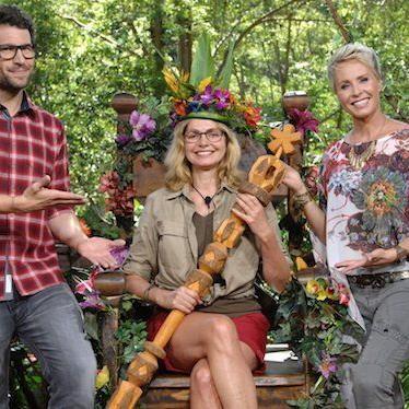 Die frisch gekrönte Dschungelkönigin: Maren Gilzer