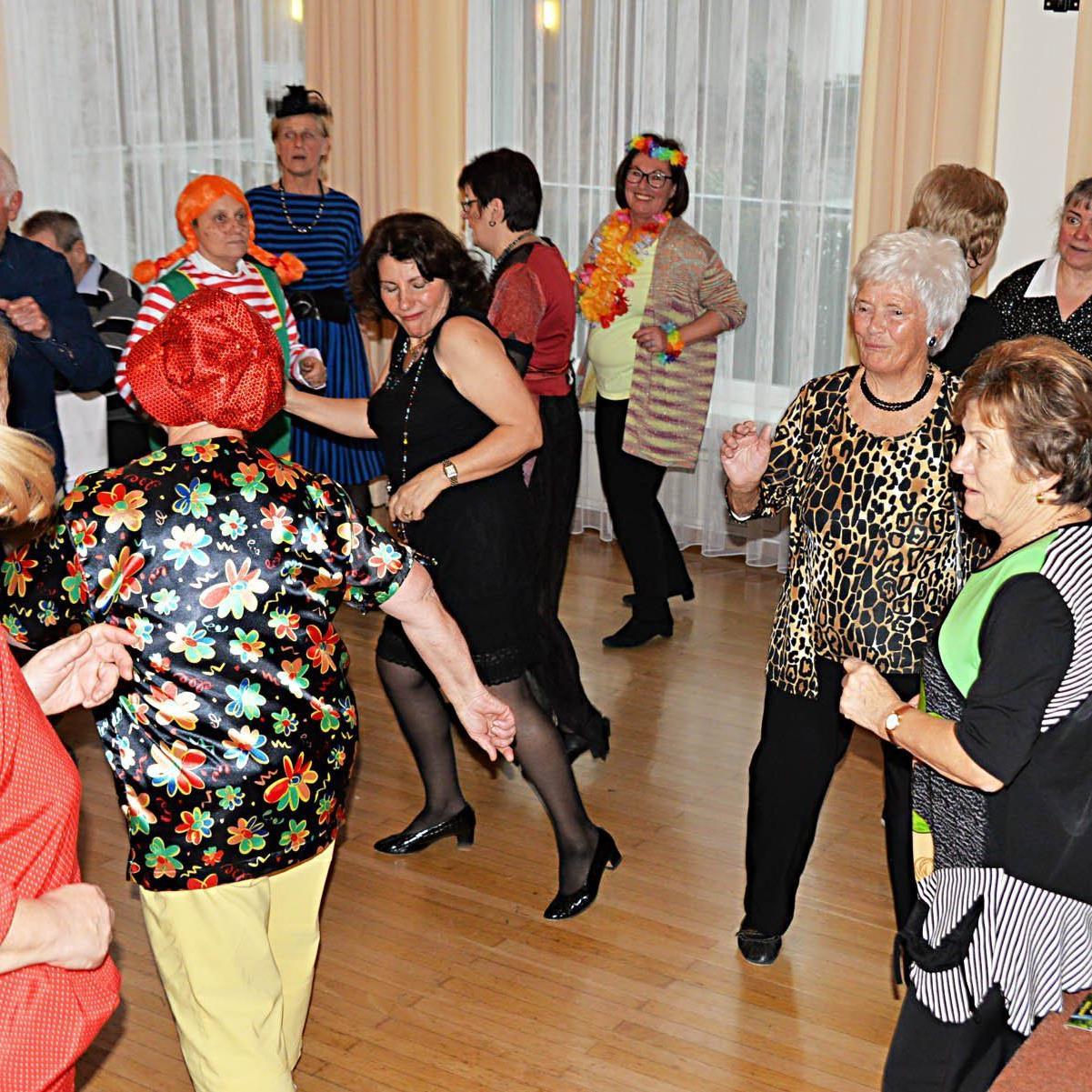 Schwung und gute Laune war Trumpf beim Faschingsnachmittag des Dornbirner Seniorenbundes