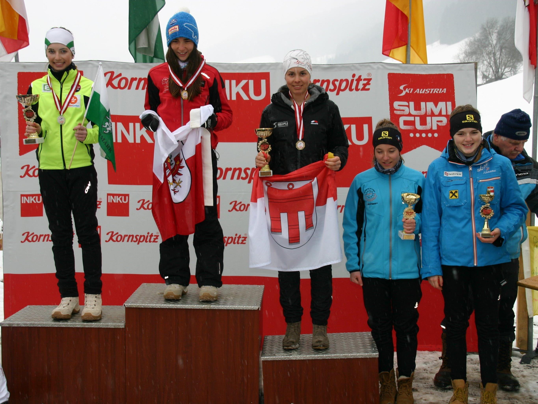 Die Schoppernauerin Magdalena Beer wurde Dritte und Vierte.