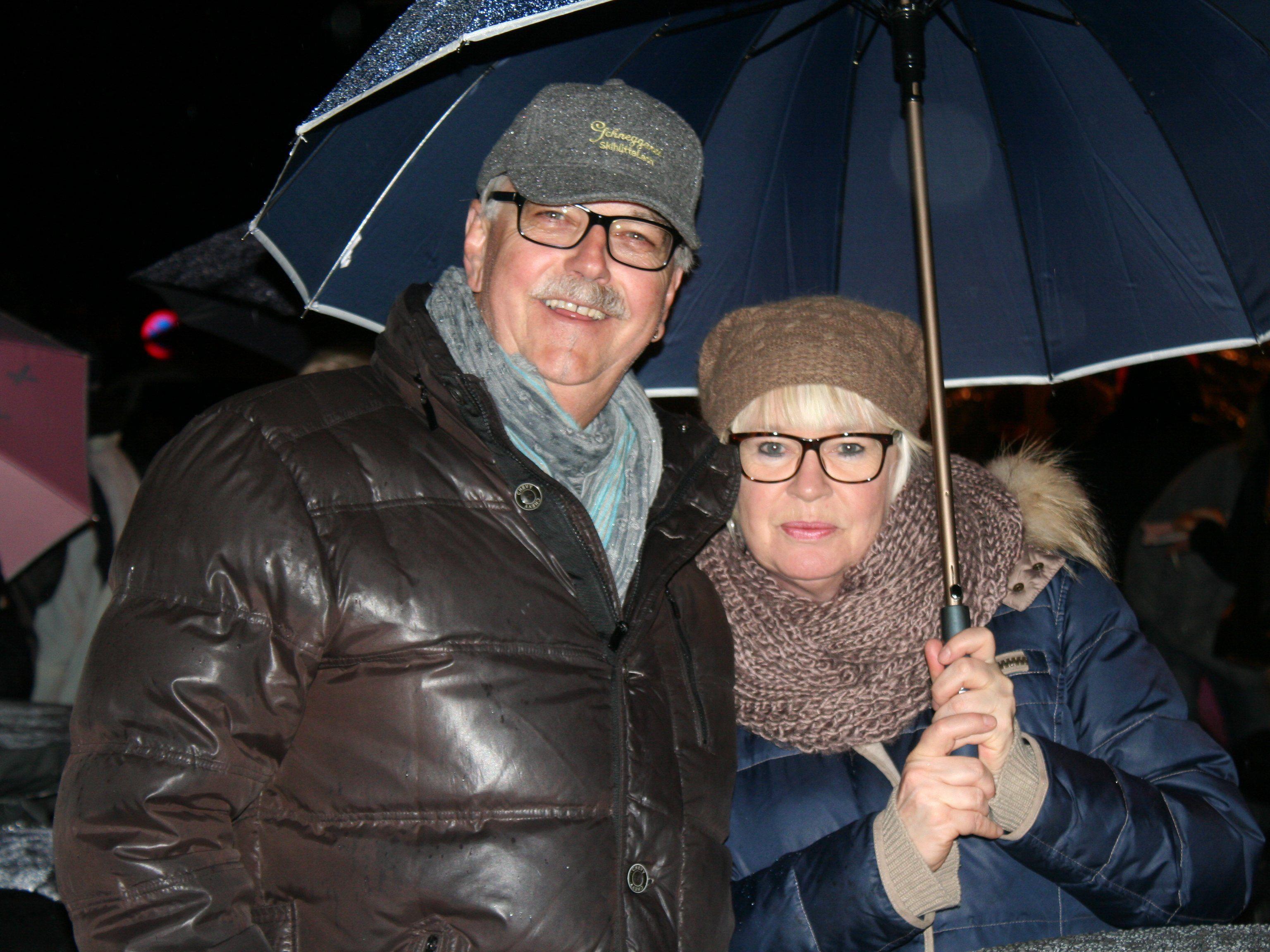 Christian und Monika Walser beim Funken in Bregenz