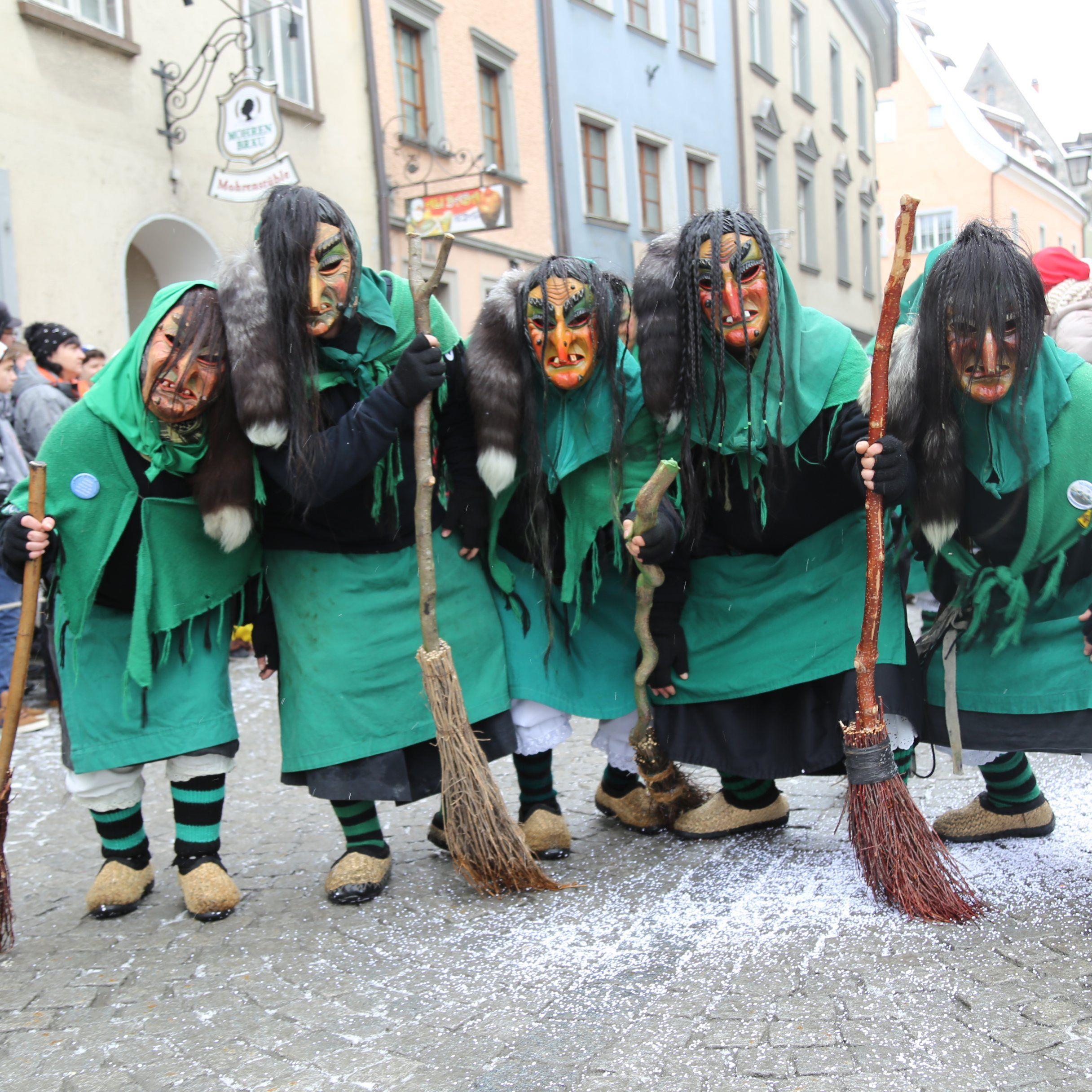 81 Gruppe zogen dieses Jahr durch die Altstadt.