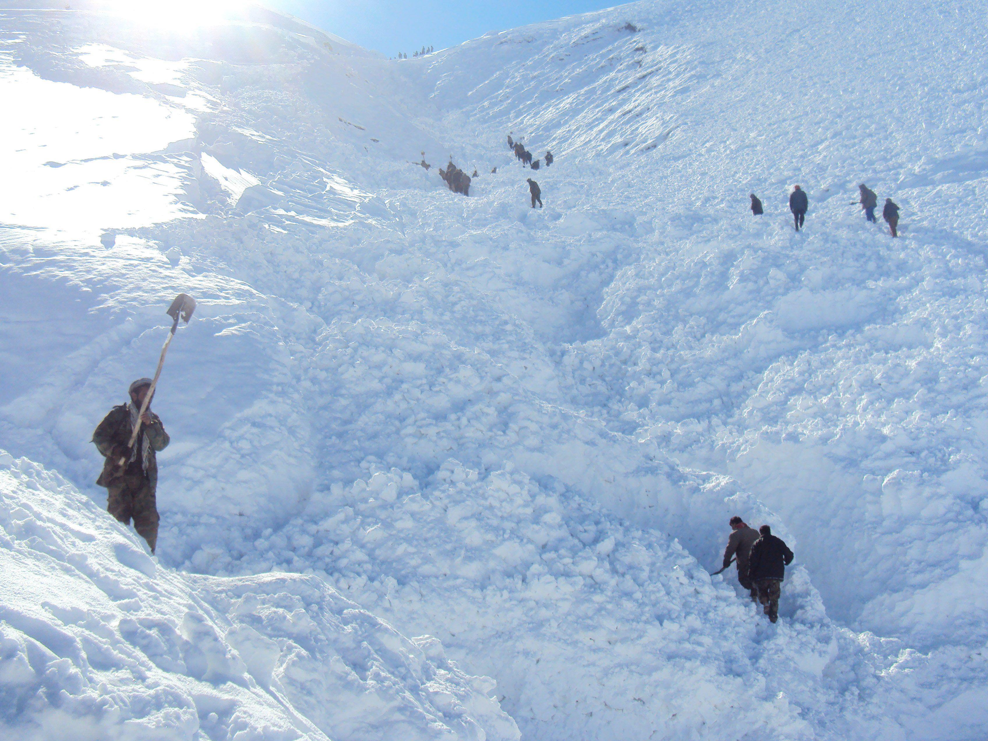 In den Bergen Afghanistans herrschen oft extreme Wetterbedingungen.