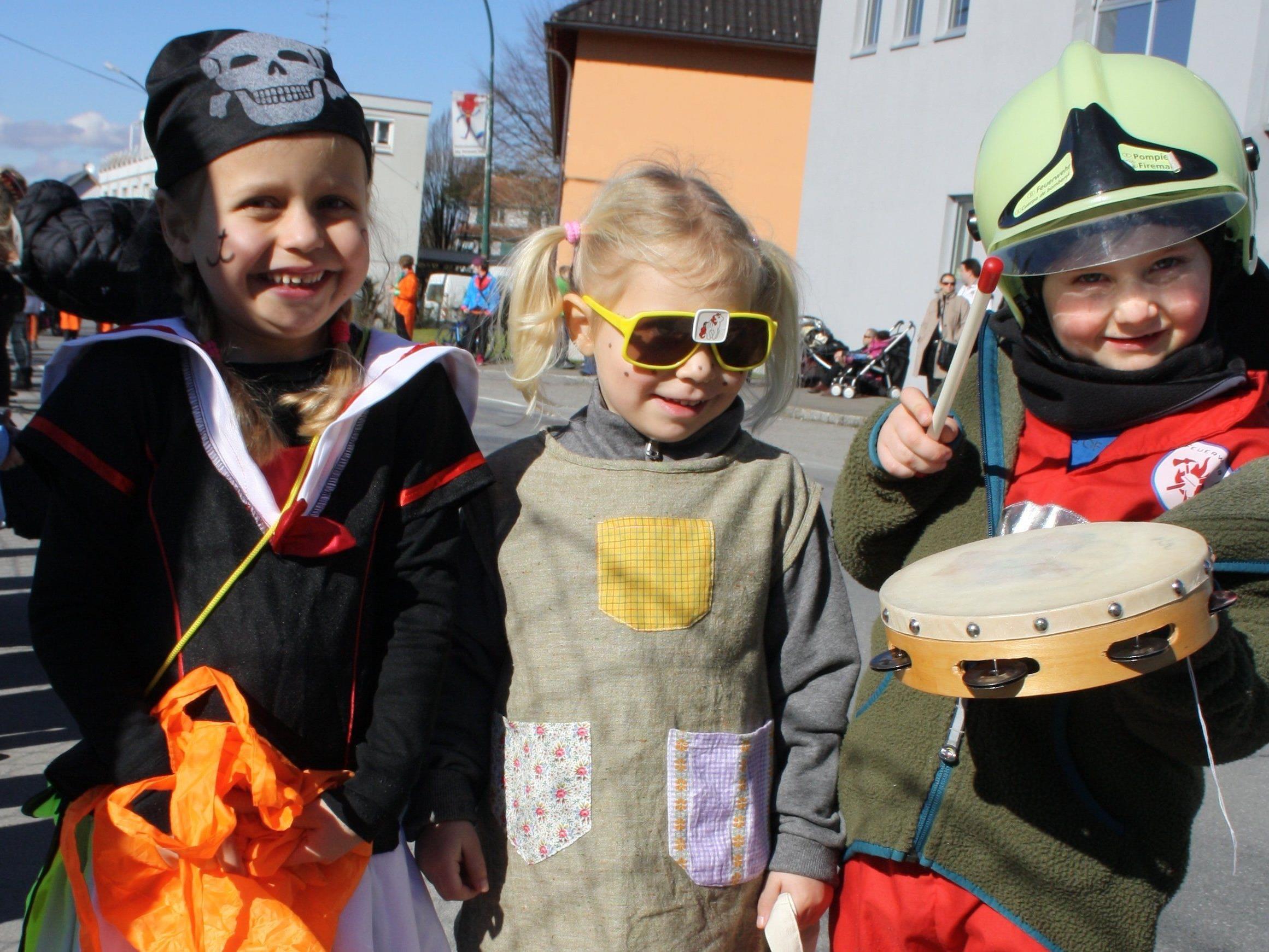 Am kommenden Sonntag wird die Bodenseegemeinde Lochau wird zum närrischen Treffpunkt der Region.