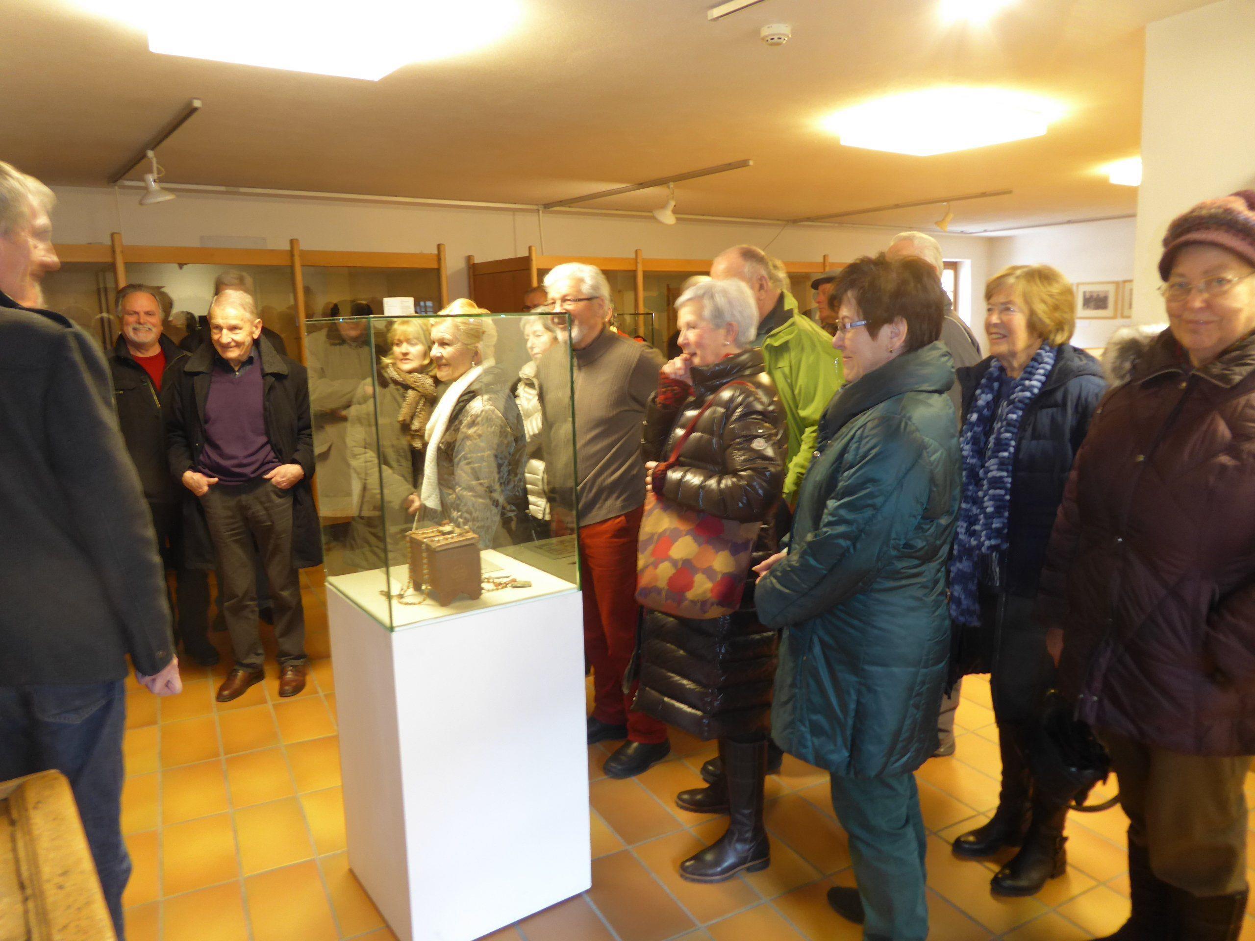 Im Heimatmuseum Schruns