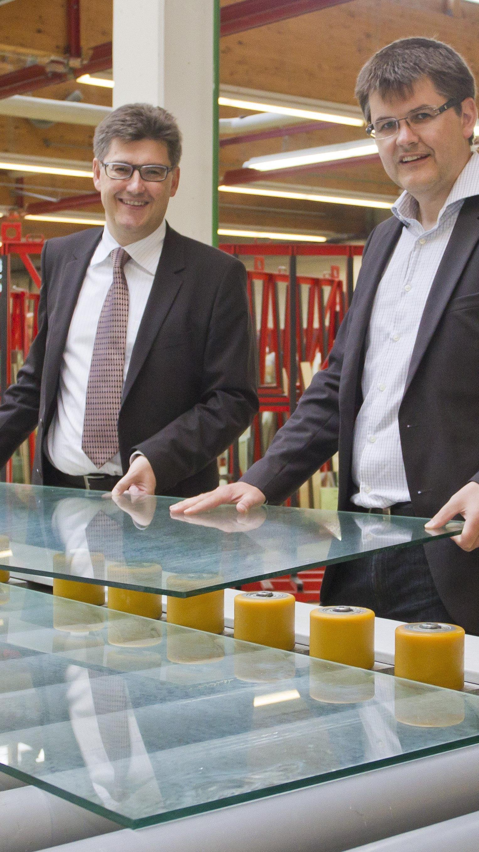 Martin und Bernhard Feigl sind ab sofort auch für den Standort Itter zuständig.