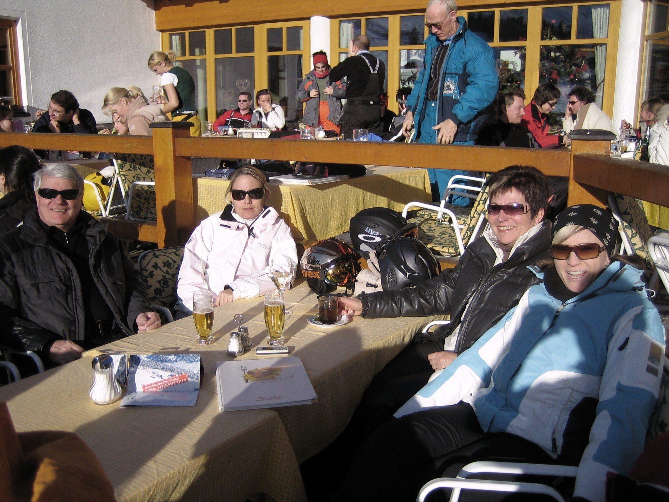 Pulverschnee und Sonnenschein: Da lacht das Herz eines jeden Wintersportlers.