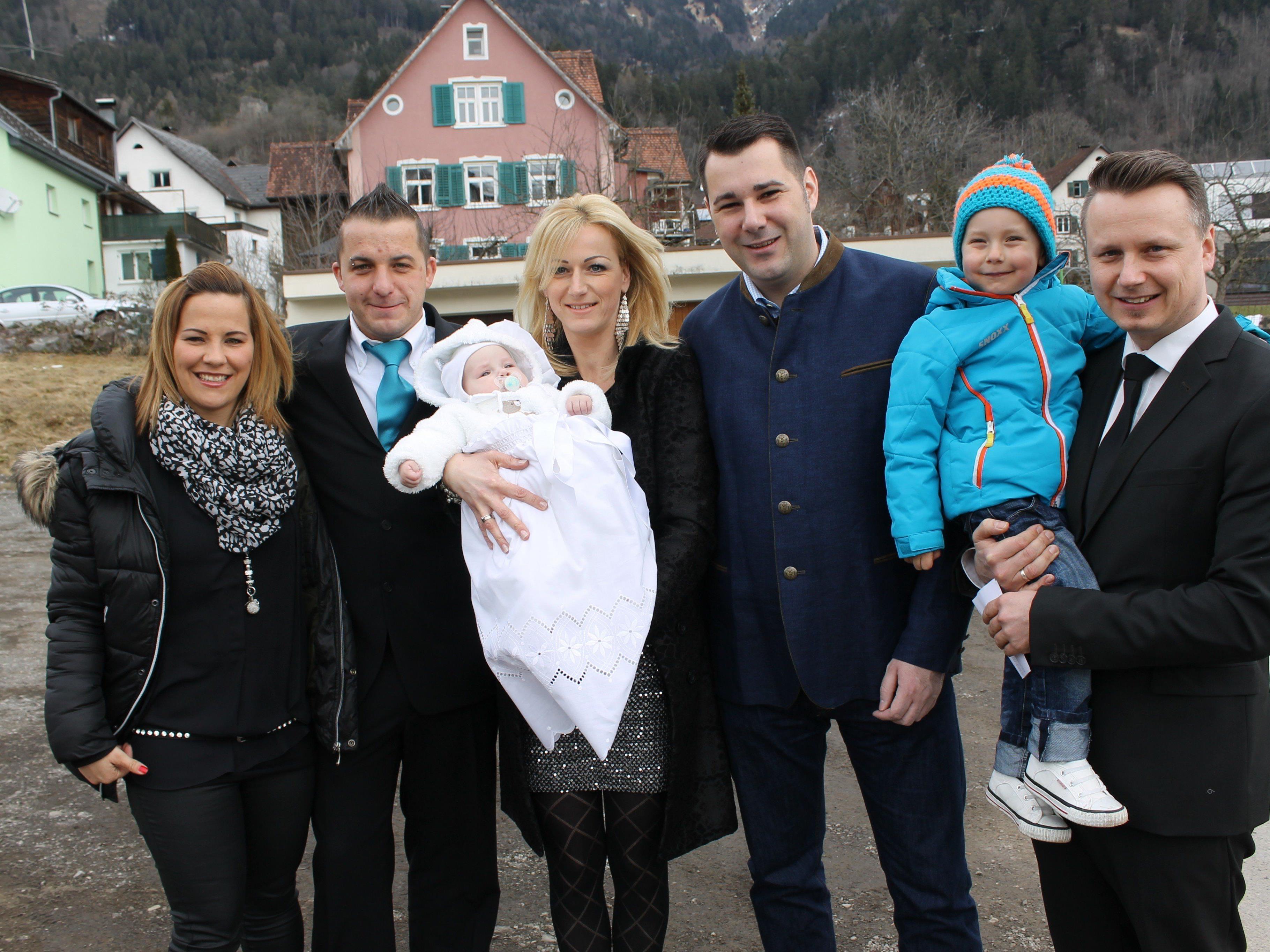 Alec Katzenmayer wurde in der St. Vinerkirche getauft