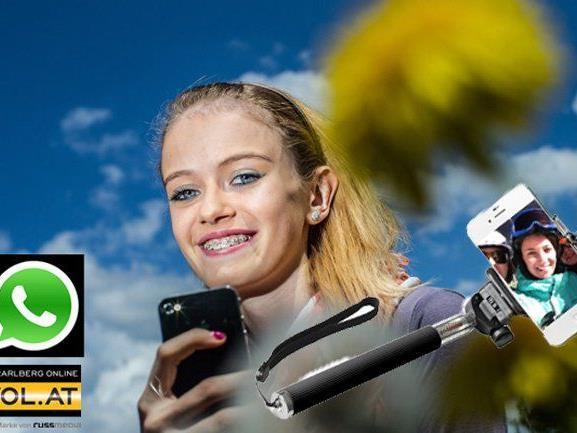 Jetzt mit VOL.AT einen coolen iProtect Selfie-Stick gewinnen.