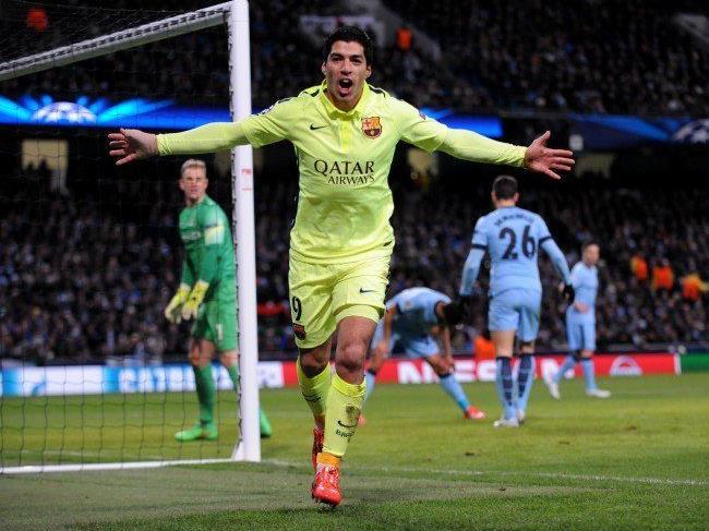 Suarez erzielte beide Treffer für den FC Barcelona.
