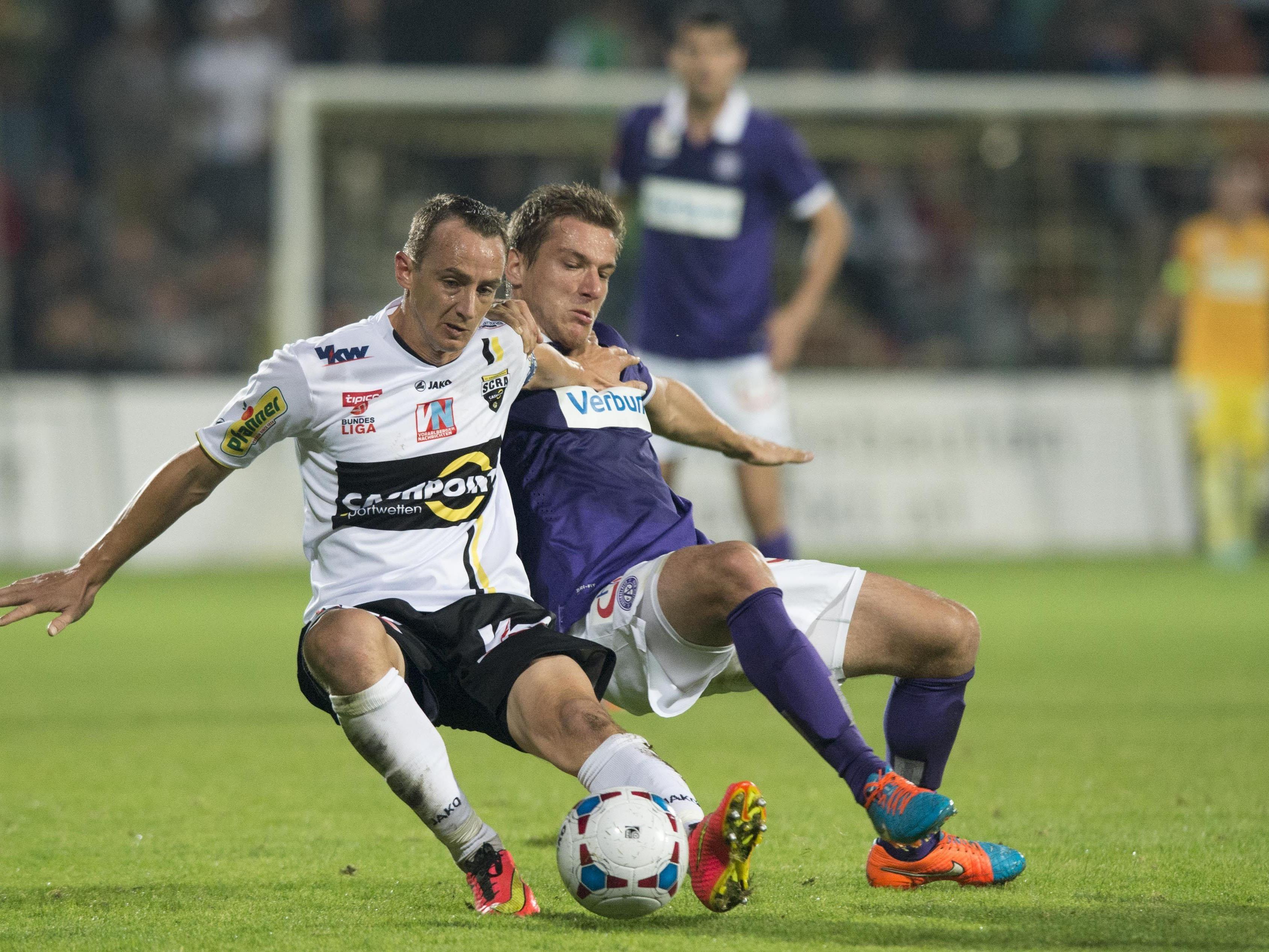 Trainer Damir Canadi wollte sich zur Lage bei der Austria nicht wirklich äußern.