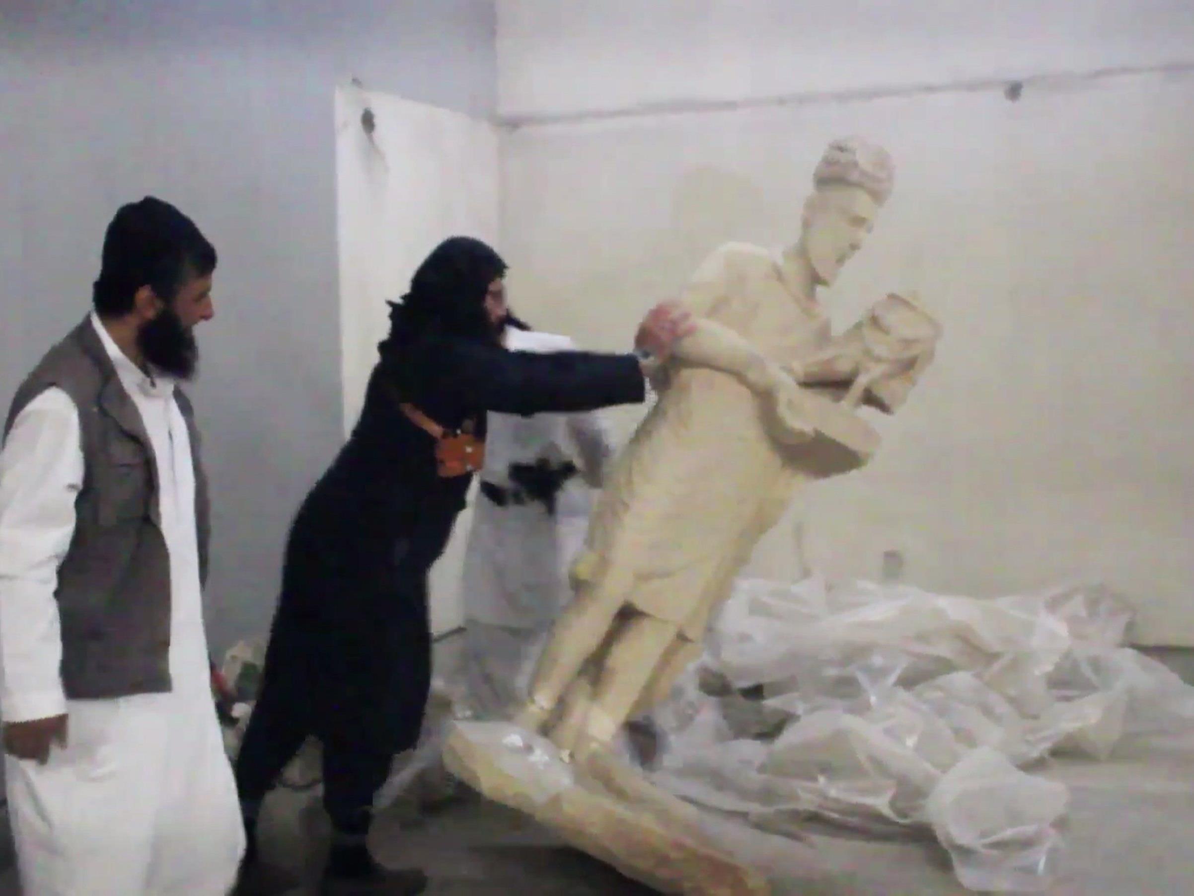 Die IS betrachtet Kulturgüter als Götzen, die beseitigt werden müssen.