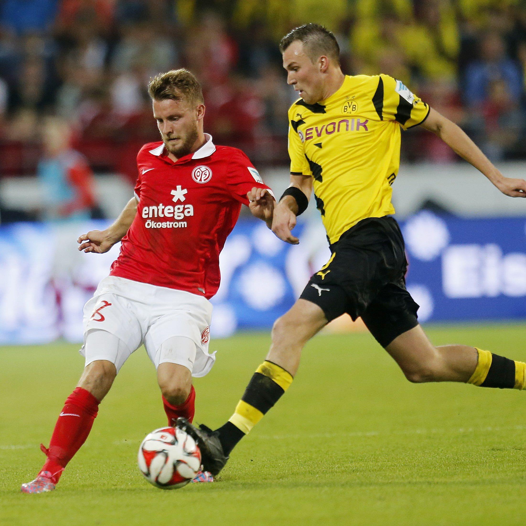 LIVE-Ticker zum Spiel Borussia Dortmund gegen Mainz 05 ab 20.30 Uhr.
