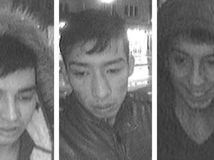 Diese Männer werden von der Polizei gesucht.