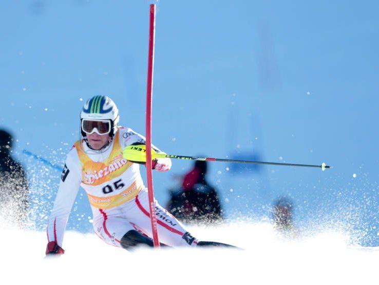 Der Dornbirner Mathias Graf wurde österreichischer Jugendmeister im Slalom.