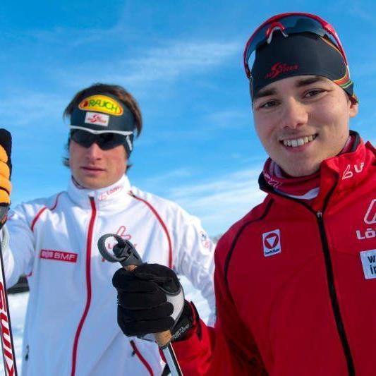 Dominik Baldauf nimmt an der Nordischen Ski WM in Schweden teil.