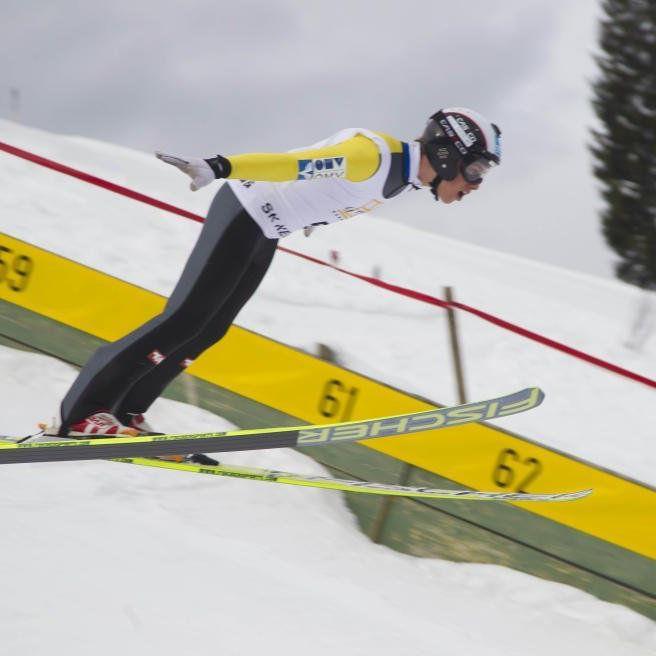 Felix Greber wurde zweimal Dritter.