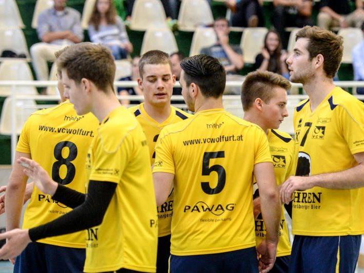 VC Wolfurt verlor das Heimspiel gegen Ried 0:3