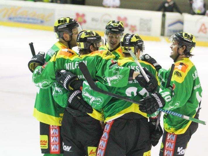 Sieg in Jesenice und Niederlage in Zell am See für den EHC Lustenau