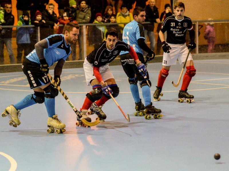 8:0 gewann das Eins gegen das Zwei vom RHC Dornbirn.